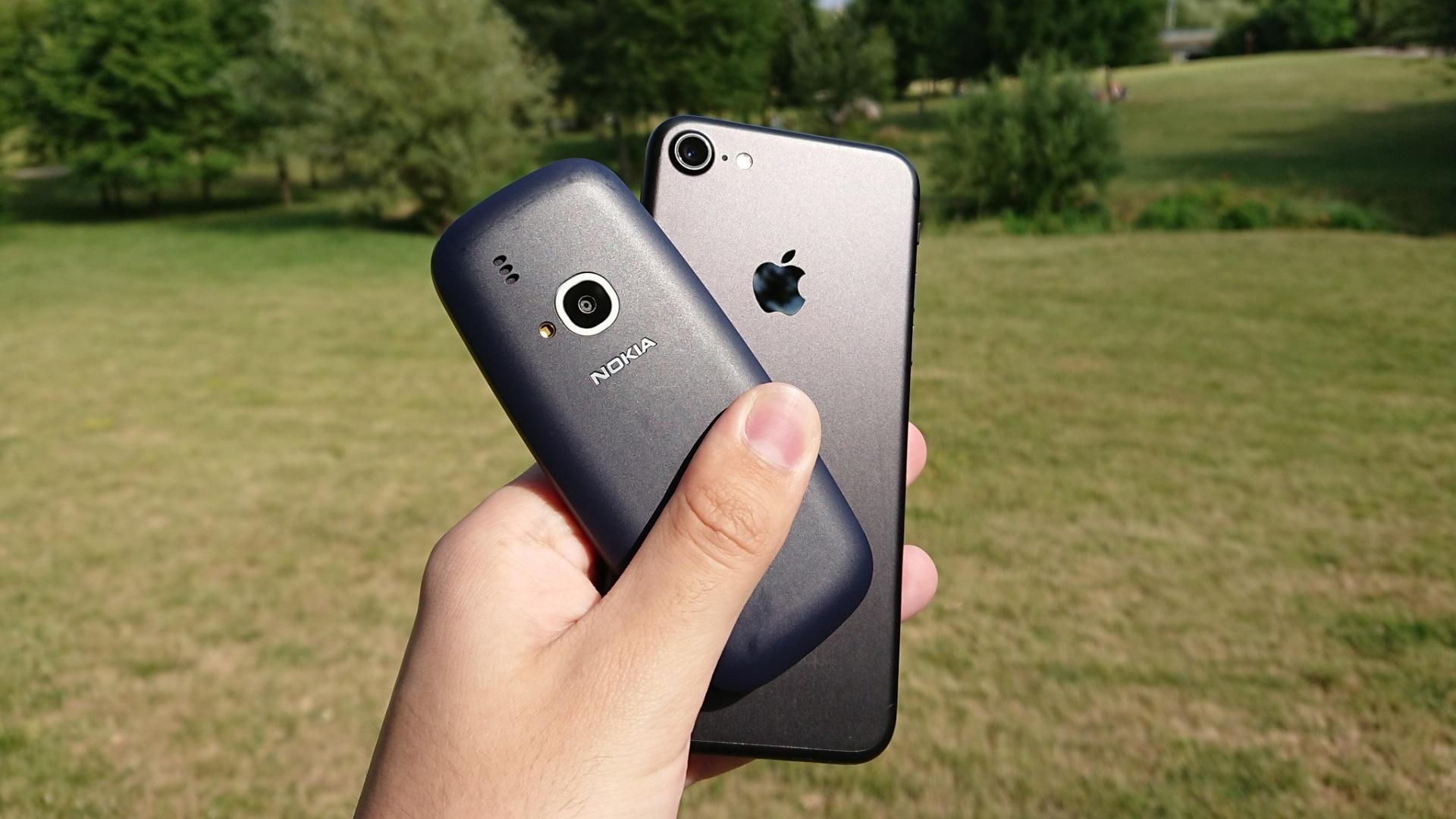 Fototest: Nokia 3310 (2017) vs. iPhone 7