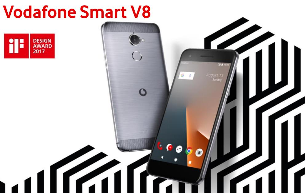 Vodafone představil Smart E8, Smart N8 a Smart V8