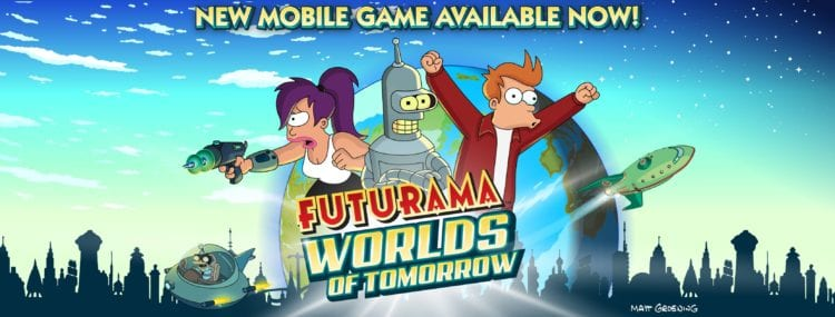 futurama worlds of tommorow