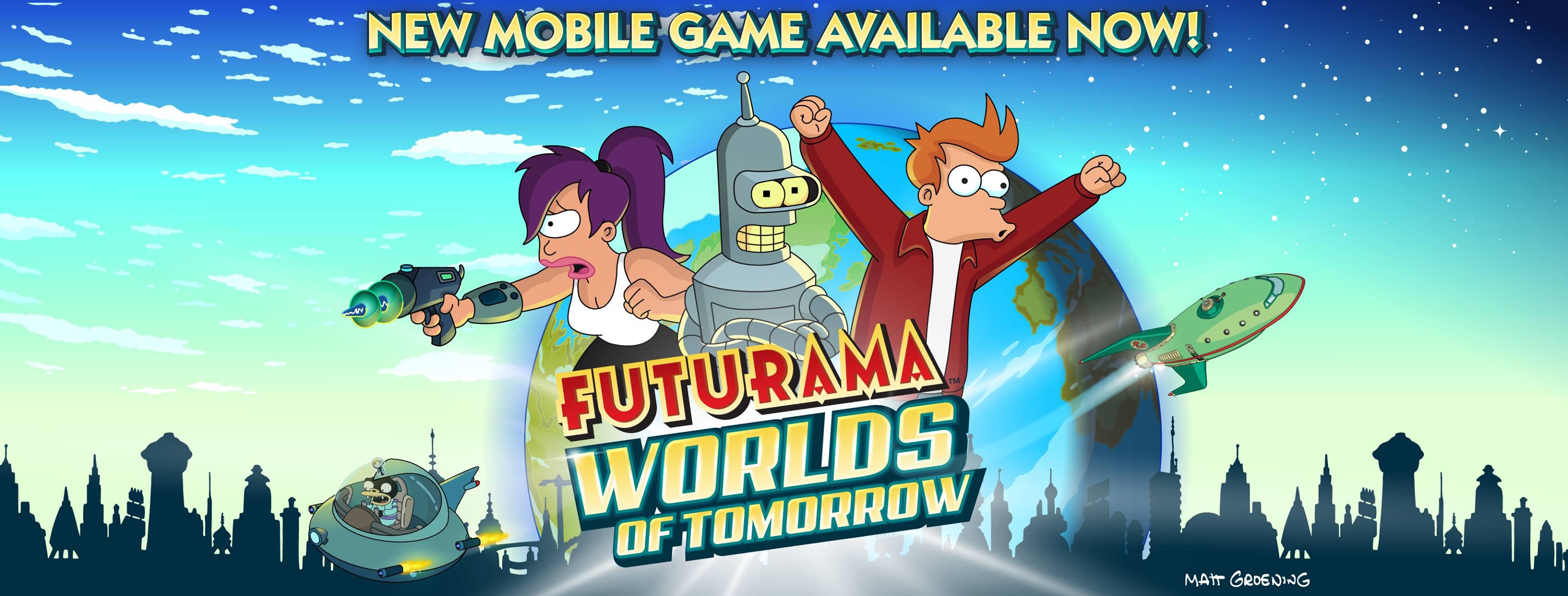 Další hra s tématikou Futuramy přišla na Android a iOS