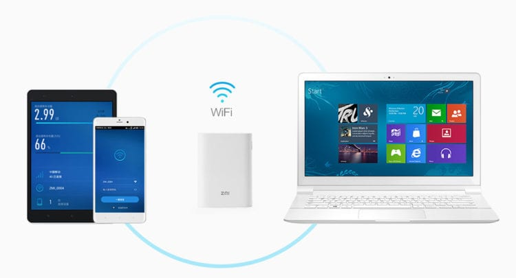 xioami wifi router powerbank