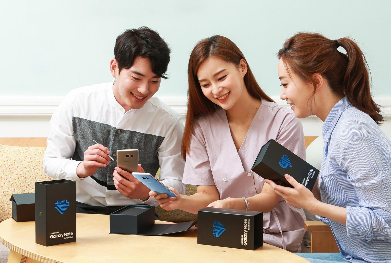 Samsung zřejmě nabídne Galaxy Note Fan Edition ve více zemích [aktualizováno]