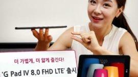 LG G Pad IV 8.0 – nový tenký tablet s Full HD displejem