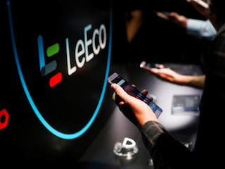 LeEco má zmrazené bankovní účty