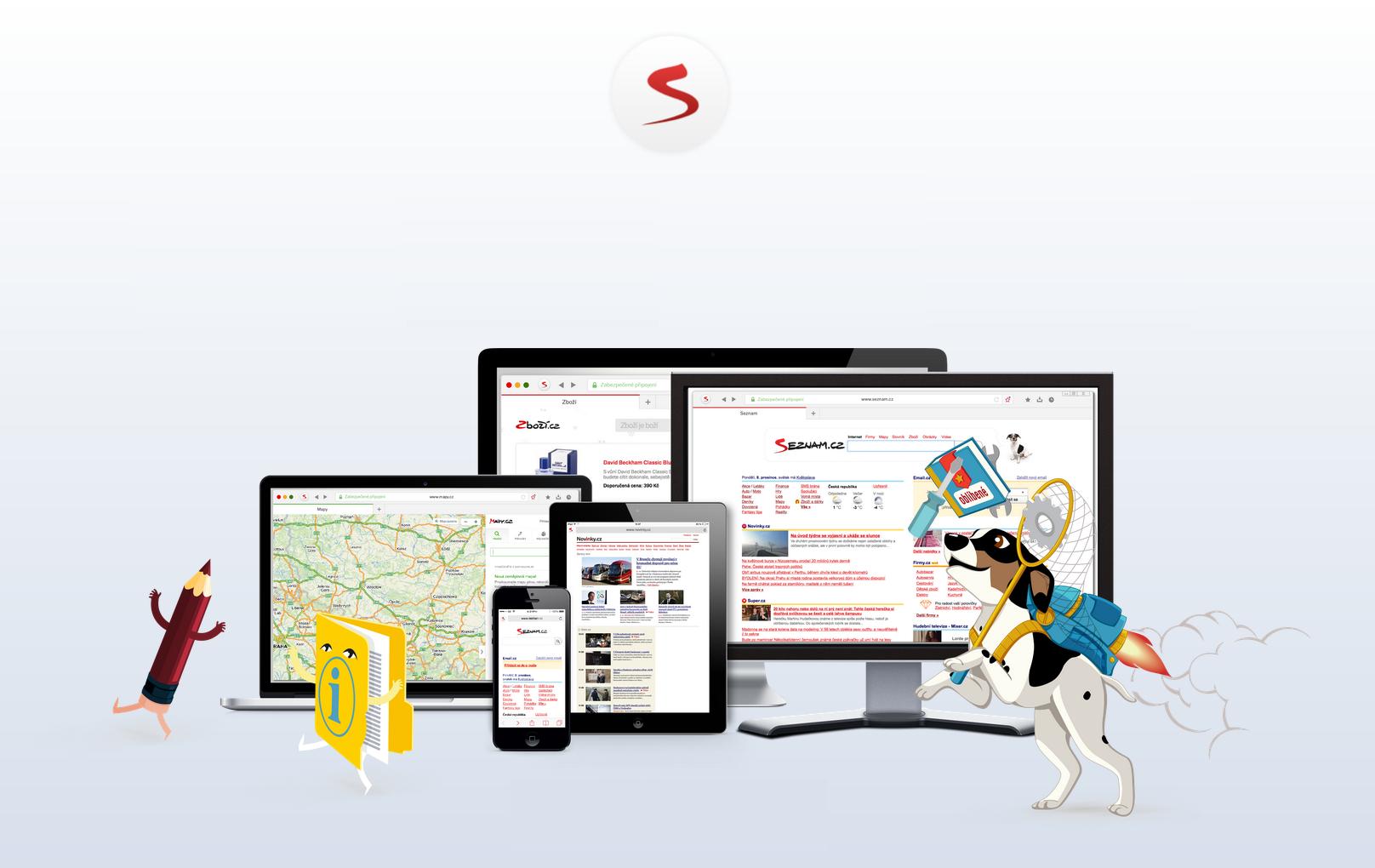 Seznam.cz aktualizuje Email pro iOS, služby jsou nyní více provázané