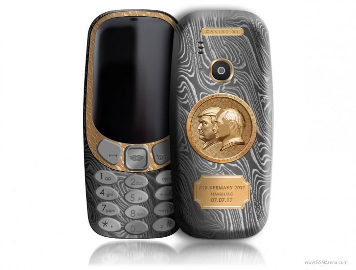Nokia 3310 ve speciální edici za 57 tisíc korun
