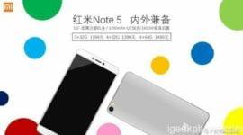 Chystá se nástupce Xiaomi Redmi Note 4