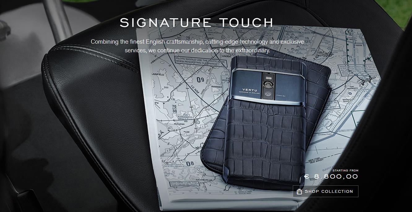 Luxusní značka mobilů Vertu (ne)končí