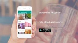 Česká aplikace s recepty na smoothie