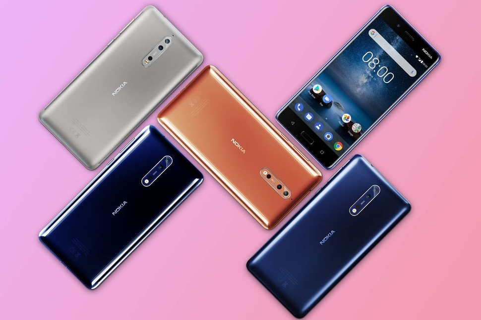Nokia 8 představena, nabízí top specifikace