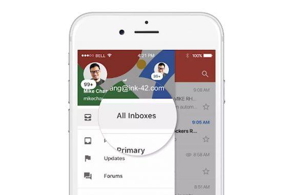 Gmail pro iOS získává novou funkci, konečně vám zobrazí všechny e-maily [aktualizováno]