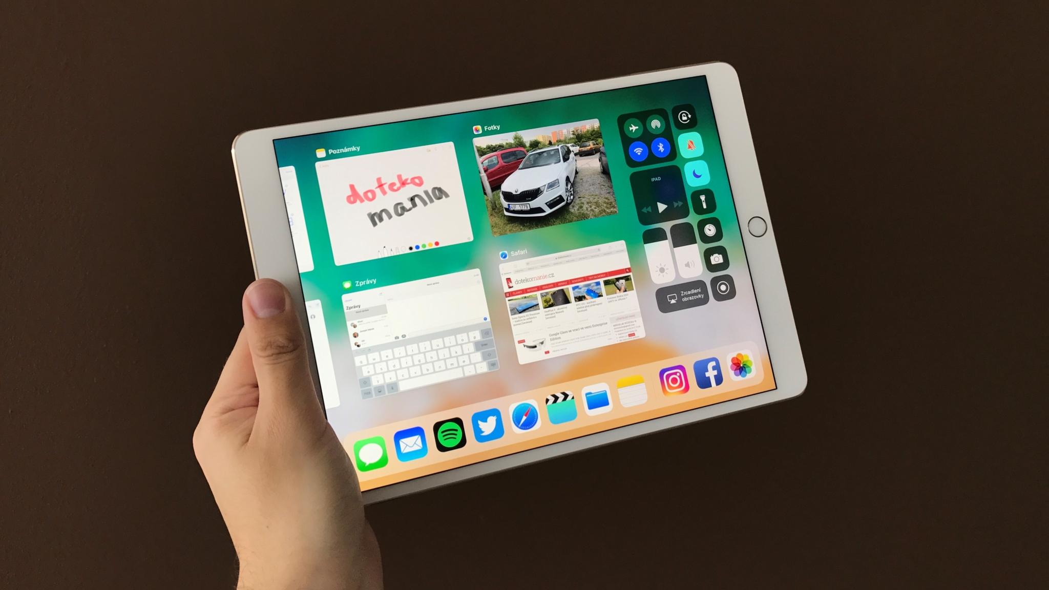 iOS 11 na tabletech iPad – první pohled [video]