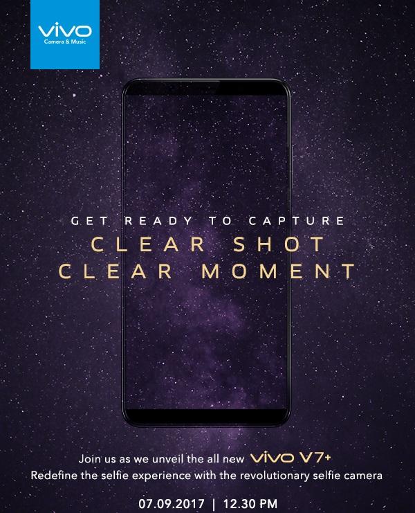 Vivo V7+ dorazí začátkem září