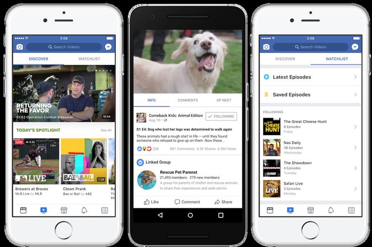 Facebook oznámil novou sekci určenou pro video obsah