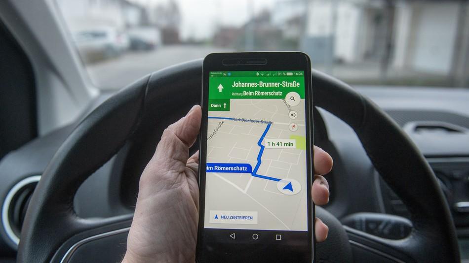 Google Mapy prozradí, jestli zaparkujete jednoduše