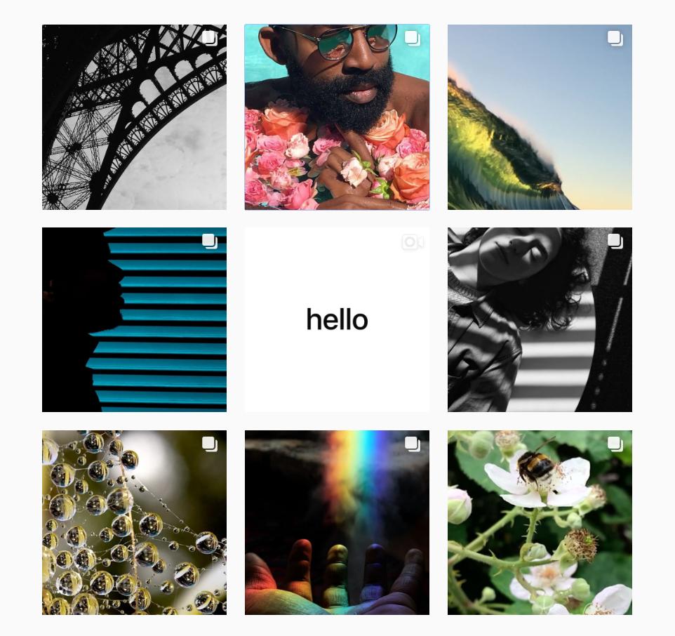 Apple si vytvořil vlastní instagramový účet