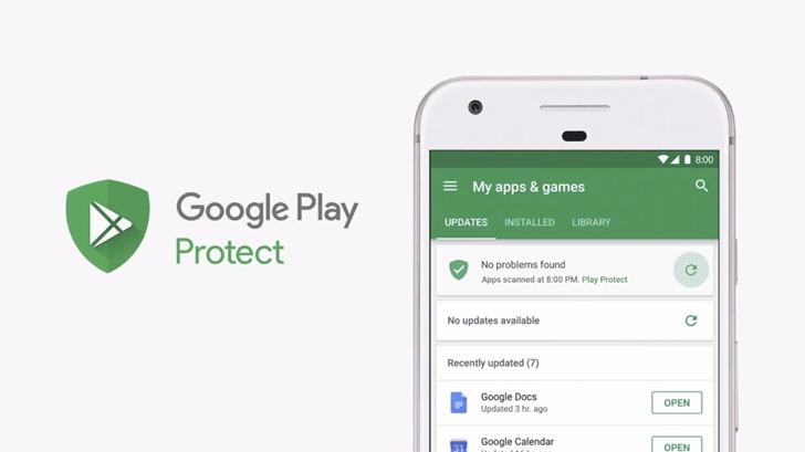 Google rozšiřuje ochranu Play Protect