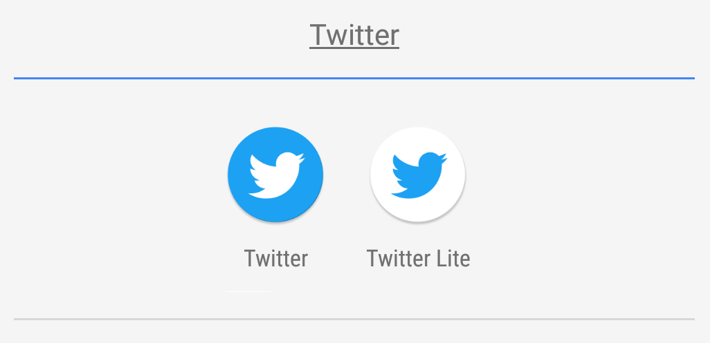 Twitter uvedl Lite aplikaci pro Android