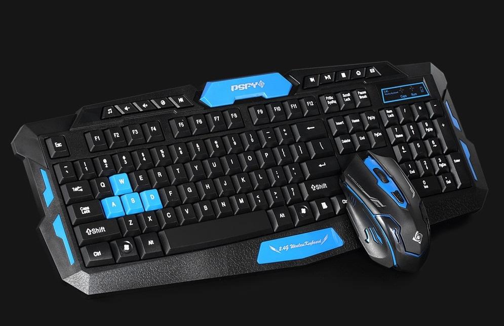 Skvělá sada pro hráče: Bluetooth myš a klávesnice komplet za 400 Kč [sponzorovaný článek]
