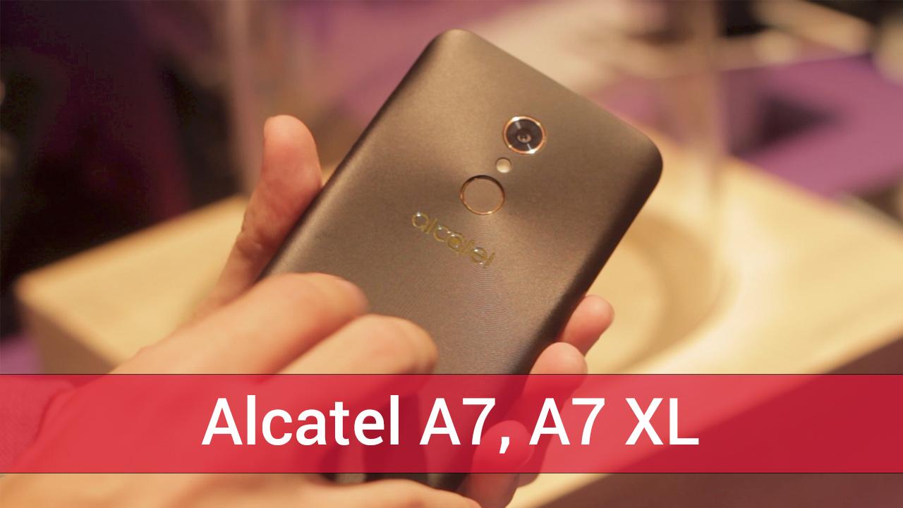 Alcatel A7 a A7 XL – první pohled [video]