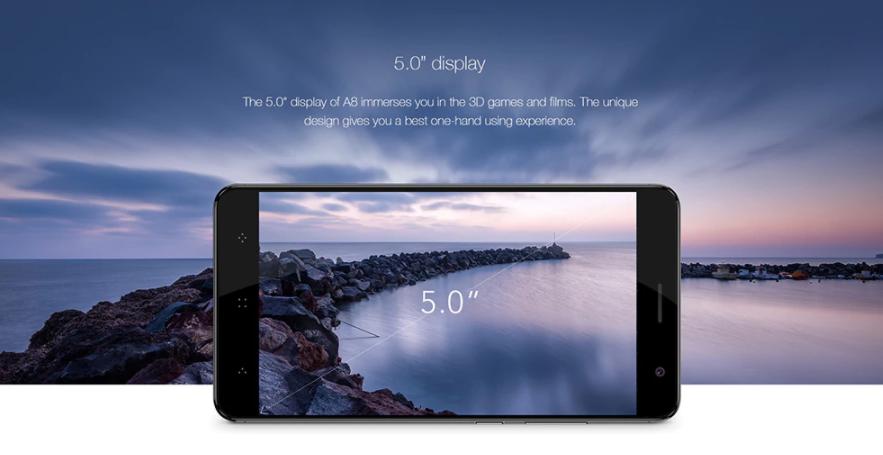 Elephone A8 jako levný záložní mobil