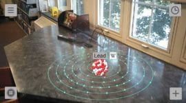 První Google ARCore aplikace v Obchodě Play