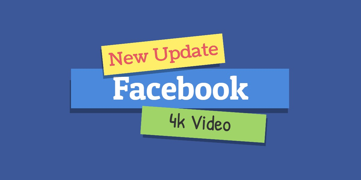Facebook konečně začíná podporovat 4K videa
