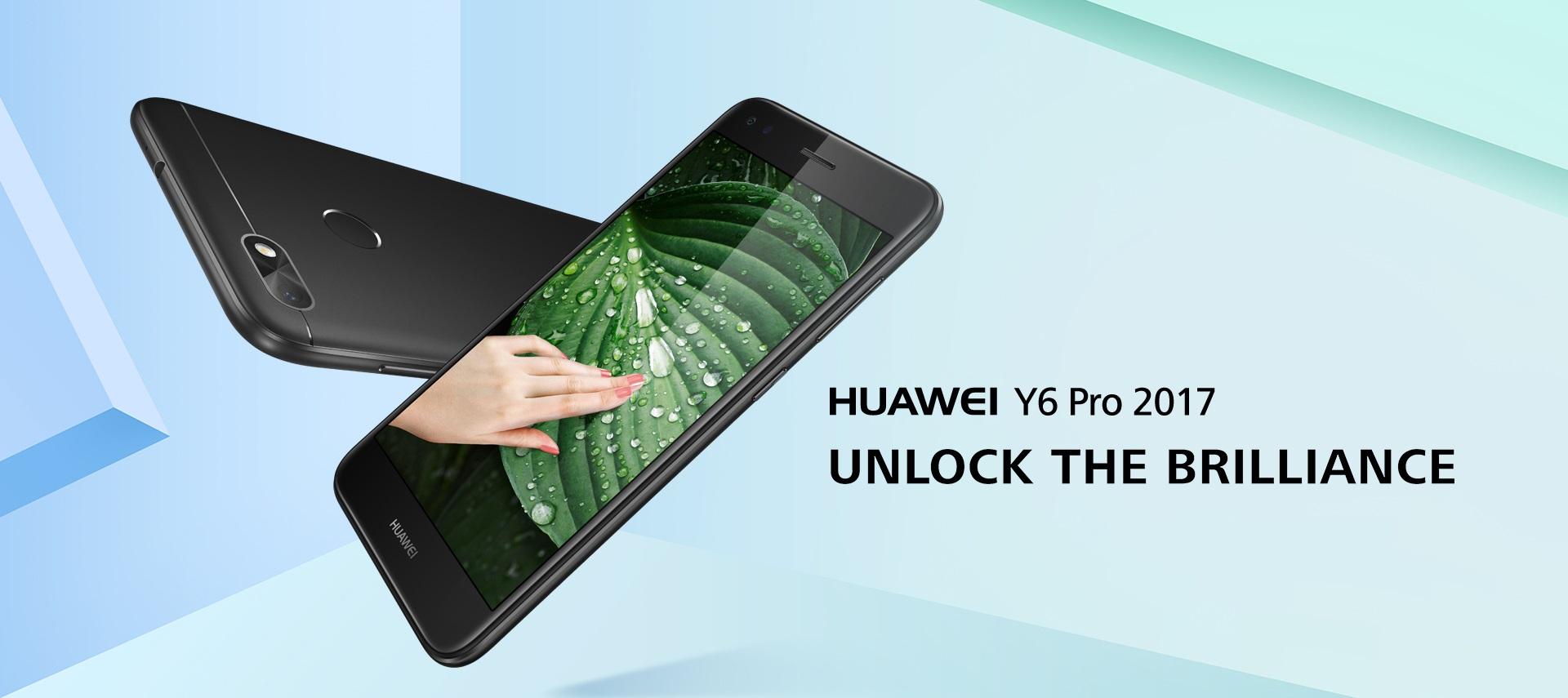 Huawei uvedl Y6 Pro 2017, nástupce loňského modelu