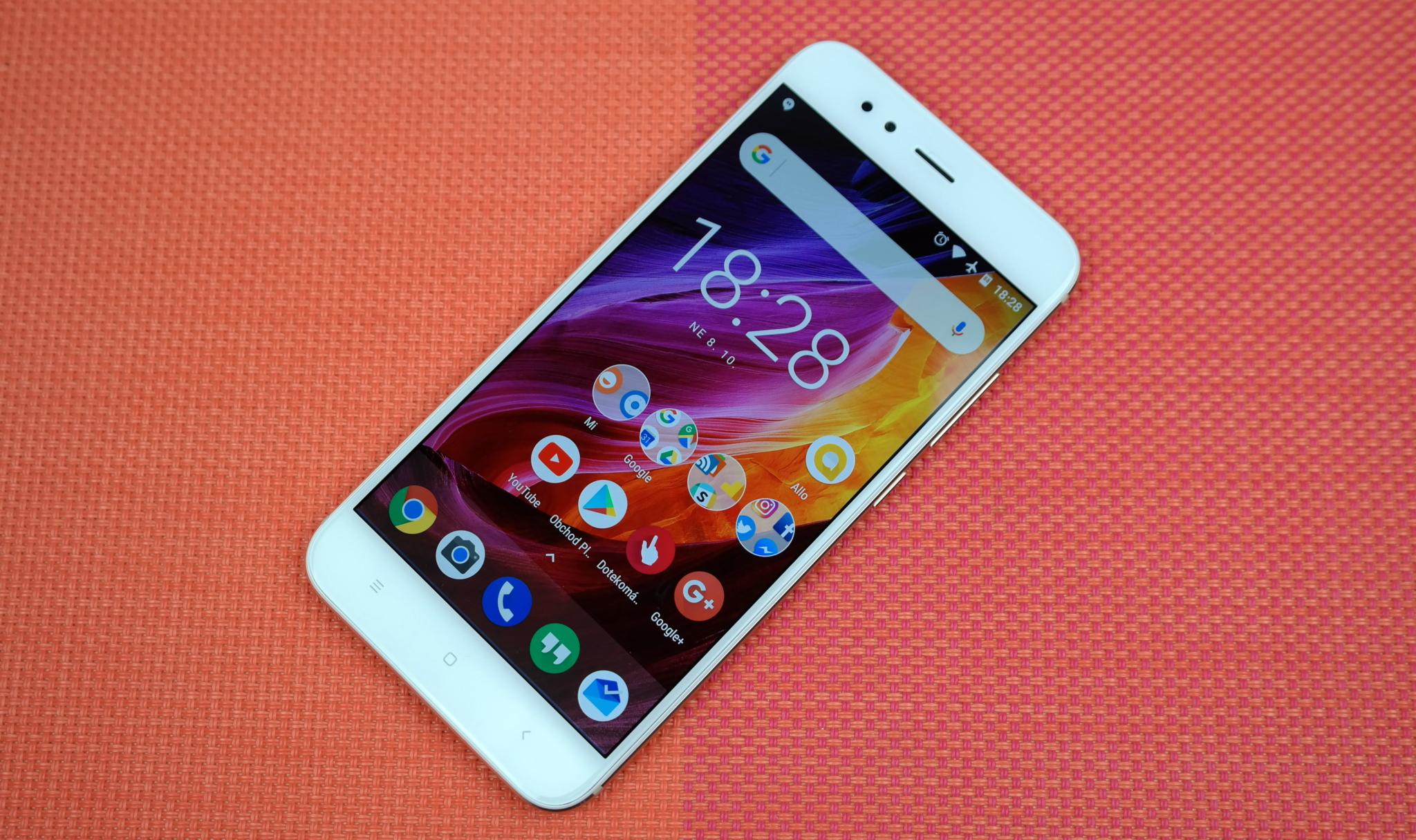 LIVE: Xiaomi Mi A1 – potomek dvou světů