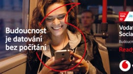 Vodafone Vánoce – sociální sítě a video služby bez vlivu na FUP