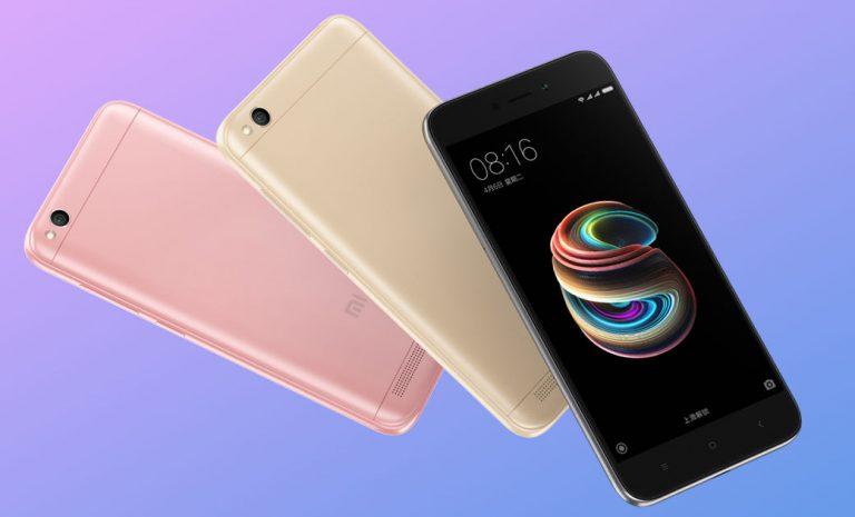 Novinka Xiaomi Redmi 5A za velmi nízkou cenu