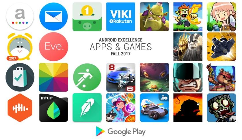 Google představil podzimní výběr nejlepších aplikací