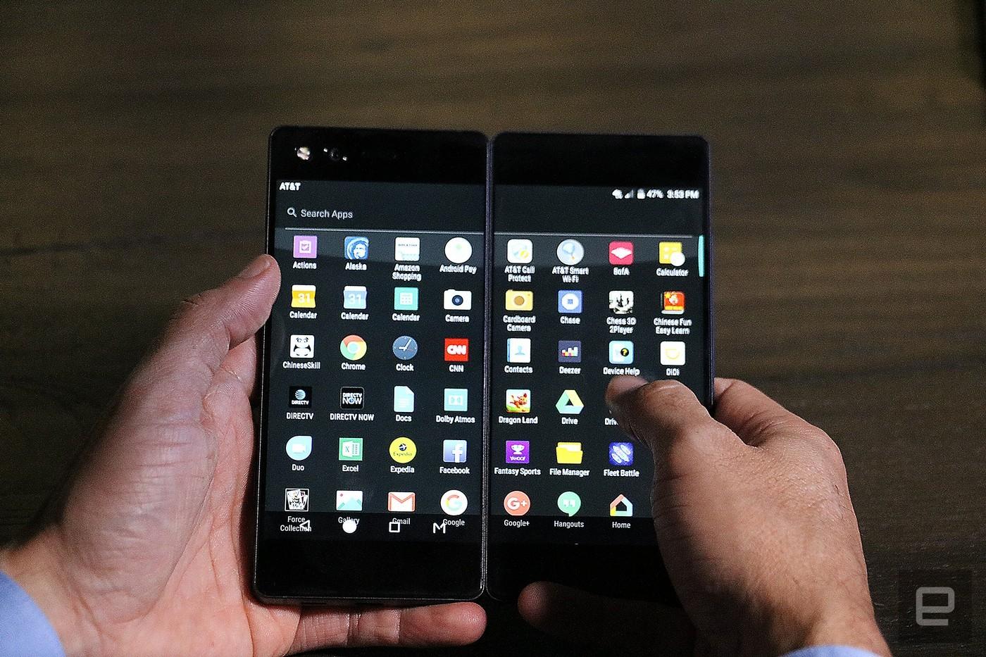 ZTE Axon M – mobil se dvěma plnohodnotnými displeji
