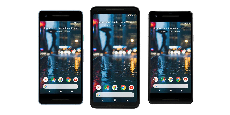 Google představil Pixel 2 a Pixel 2 XL
