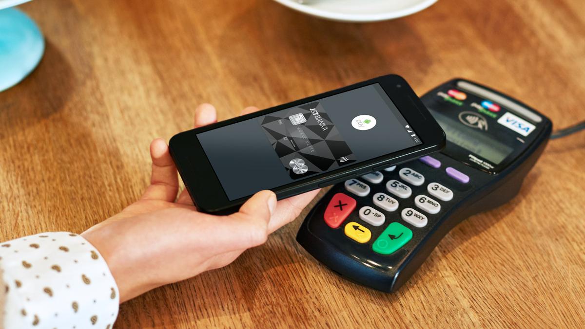 Záznam z uvedení Android Pay v Česku