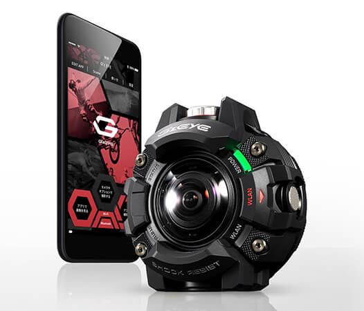 Casio G'z Eye – nová řada odolných kamer do terénu