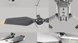 Elegantní dron DJI Mavic Pro Platinum nyní za nejnižší možnou cenu! [sponzorovaný článek]