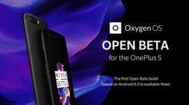 OnePlus 5 – vyšla veřejná beta verze Androidu Oreo