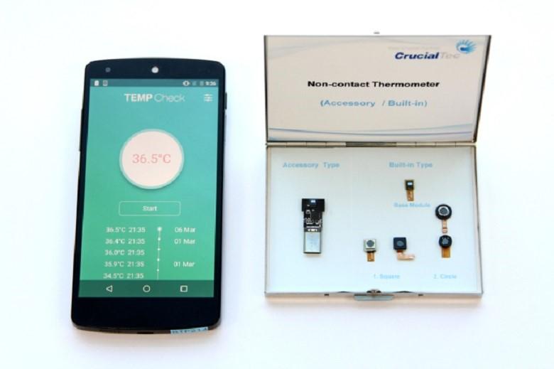 Přichází první teploměr pro smartphony, bezdrátově změří vaši tělesnou teplotu