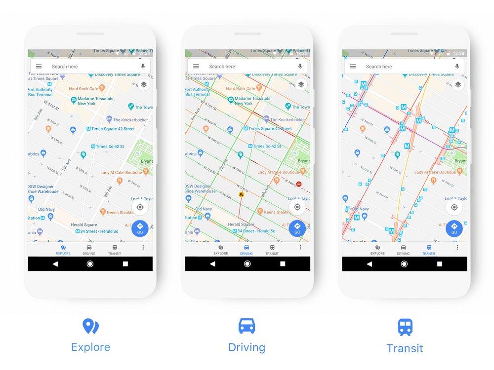 Google Mapy mírně změní podobu
