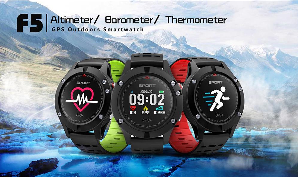 NO.1 F5 jsou další chytré hodinky pro sportovce