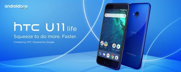 Oficiálně – HTC U11 Life s čistým Androidem
