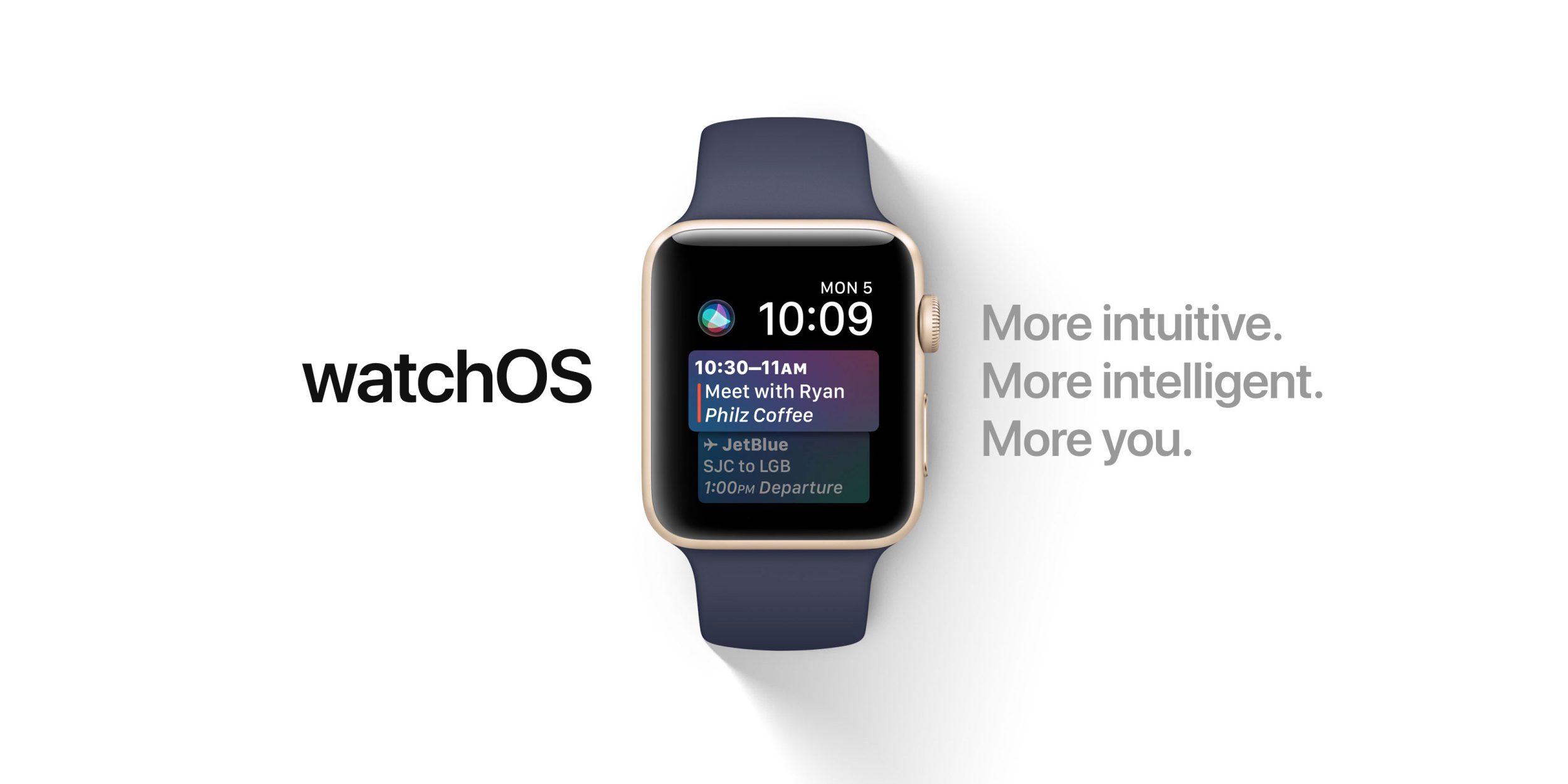 watchOS 4.3 aneb spousta novinek, ovšem stále za konkurencí