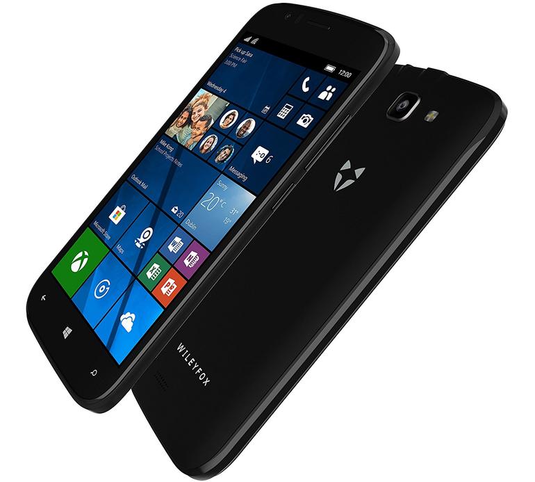 Přichází telefon s mrtvým systémem Windows 10 Mobile – britský Wileyfox