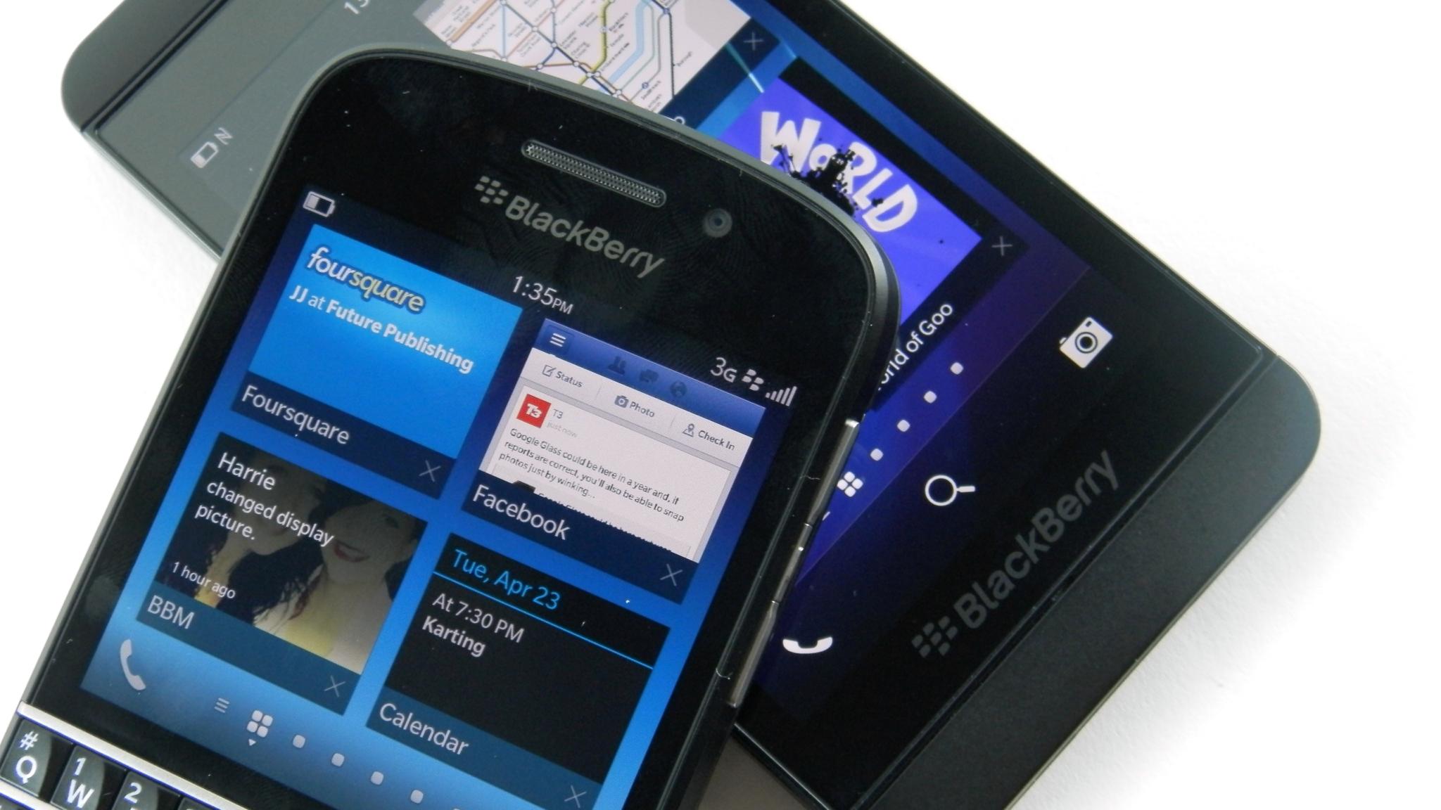 BlackBerry 10 – podpora skončí v roce 2019