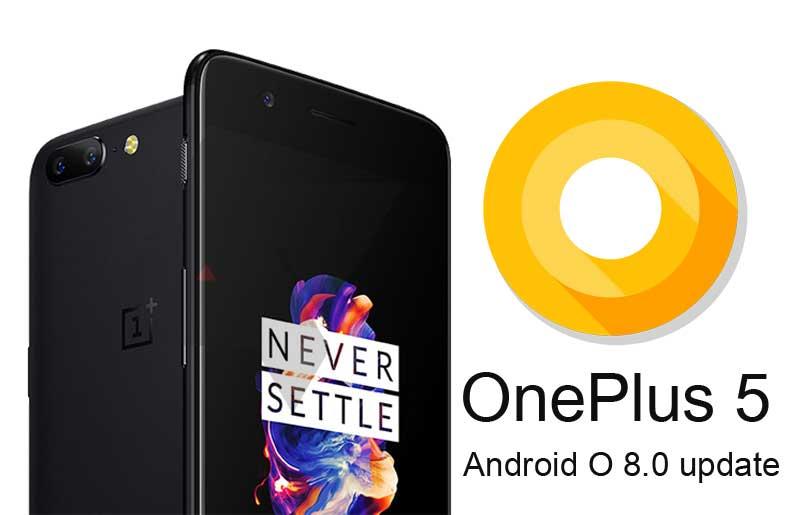 OnePlus 5 dostává aktualizaci na Android Oreo