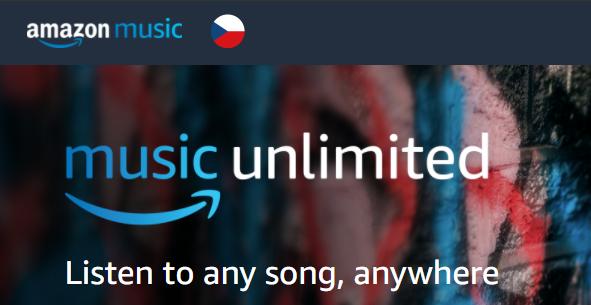 Amazon Music Unlimited vstupuje na český a slovenský trh