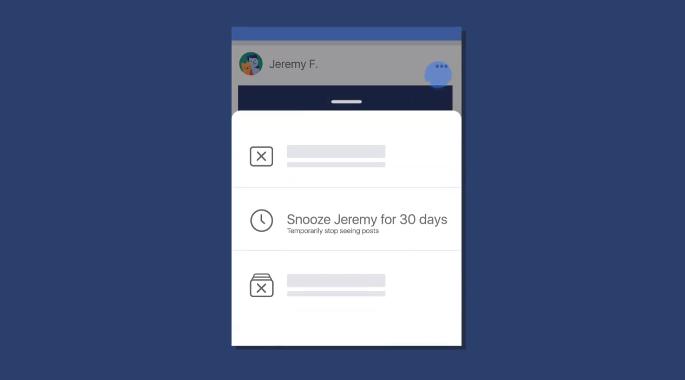 """Facebook umožní """"ignorování"""" přátel, stránek nebo skupin na 30 dnů"""