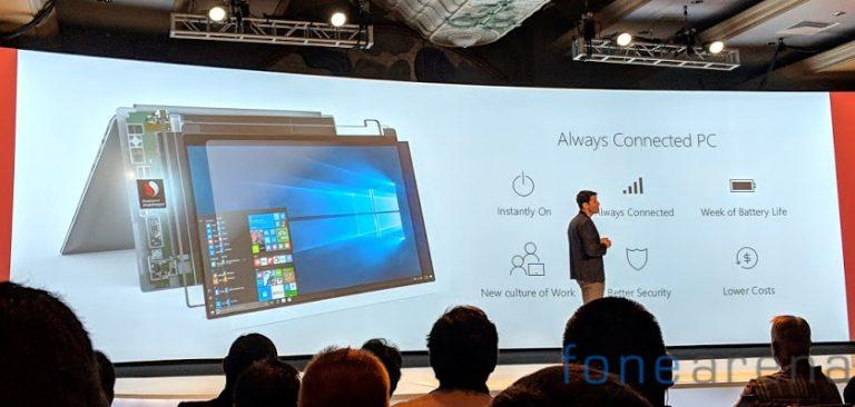 Na světě jsou první plnohodnotné počítače s Windows 10 poháněné mobilním procesorem Snapdragon 835
