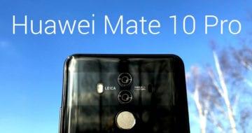 LIVE: Huawei Mate 10 Pro